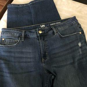Lee Riders jean skinny size 14